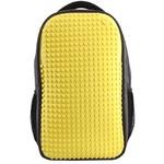 Пиксельный рюкзак для ноутбука Full Screen Biz Backpack/Laptop bag WY-A009 Желтый