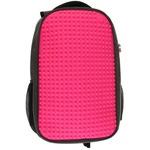 Пиксельный рюкзак для ноутбука Full Screen Biz Backpack/Laptop bag WY-A009 Фуксия