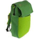 Пиксельный рюкзак Canvas Top Lid pixel Backpack WY-A005 Зеленый-зеленый