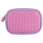 Маленькая сумочка клатч Sweet Love Clutch Bag WY-B011 Сиреневый-Розовый