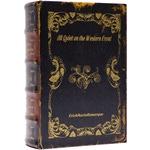 """Подарочная шкатулка в виде книги. Эрих Мария Ремарк """"На западном фронте без перемен"""" (средний формат)"""