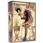 Подарочная шкатулка в виде книги. Винтаж-2 (большой формат)