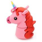 Подарочная флешка. Единорог (цвет розовый)