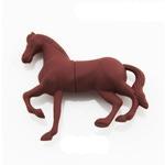 Подарочная флешка. Конь коричневый