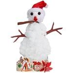 """Набор для творчества кристаллы """"Волшебный снеговик"""""""