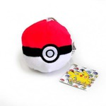 Плюшевая игрушка Покемон. Мяч Покебол (8 см)