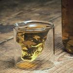 Подарочный стакан. Череп
