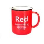 Подарочная керамическая кружка. RED