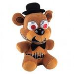 Мягкая игрушка ФНАФ. Кошмарный Фредди (18 см.)