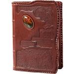 Подарочный ежедневник в кожаном переплете. «Загадка»