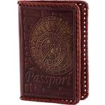 Кожаная обложка на паспорт. «Вселенная»
