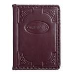Кожаная обложка на паспорт. «Герцог»