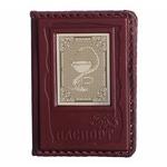Кожаная обложка на паспорт. «Медику»