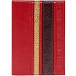 Кожаная обложка на паспорт. «Саванна»