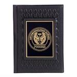 Кожаная обложка на паспорт. «Автомобильный войска»