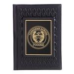 Кожаная обложка на паспорт. «Танковые войска»