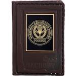 Кожаная обложка на паспорт. «Воздушно-Десантные войска»