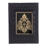 Кожаная обложка на паспорт. «МЧС»