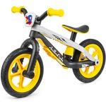 Легкий детский беговел в стиле трюкового Chillafish BMXie-RS (Бээмыкси) (желтый)