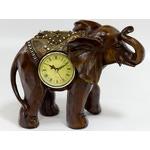 Подарочные настольные часы. Слон