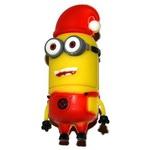 Подарочная флешка. Миньон в рождественской шапке