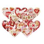 """Скрапбукинг своими руками. Набор для создания 10-ти открыток """"Влюблённые"""""""