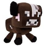 Плюшевая игрушка Майнкрафт. Детеныш коричневой грибной коровы (18см)