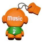 Подарочная флешка. Music-man