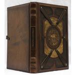 Подарочная книга в кожаном переплете. Самые знаменитые парусные суда