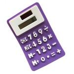 Калькулятор мягкий (цвет фиолетовый)