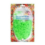 Резиночки для плетения (1000 шт). Цвет светло-зеленый