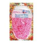 Резиночки для плетения (1000 шт). Цвет белый+розовый