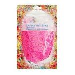 Резиночки для плетения (1000 шт). Цвет неоновые светло-розовый