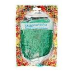 Резиночки для плетения (1000 шт). Цвет с блестками зеленый