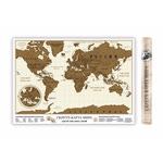 Стираемая скретч-карта мира 3.0