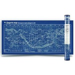 Gagarin Map. Светящаяся карта звездного неба