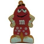 Подарочная флешка. M&M`s. Цвет красный