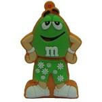 Подарочная флешка. M&M`s. Цвет зеленый