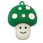 Подарочная флешка. Гриб (зеленая шляпка)