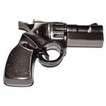 Подарочная металлическая флешка. Револьвер (цвет бронза)