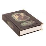Подарочная книга в кожаном переплете. Наполеон Бонапарт. Военное искусство. Опыт победоносных компаний.