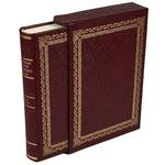 Подарочная книга в кожаном переплете. Новейшая исторiя Еврейскаго народа (в футляре)