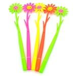 Набор гнущихся ручек. Букет цветов (5 штук)