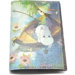 Кожаная обложка на паспорт. Муми Троль