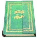 Подарочный блокнот с магнитной застежкой. Цвет зеленый