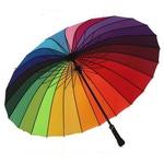 Зонт Радуга (24 цвета)