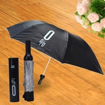 Складной зонт. Бутылка (цвет черный)