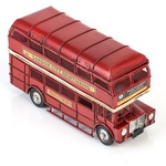Копилка в виде Лондонского автобуса с 2 фоторамками