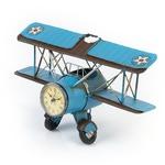 Настольные часы с подставкой для ручек. Аэроплан