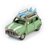 """Модель Ретро """"Автомобиль"""" зелёный, с фоторамкой и подставкой для ручек"""